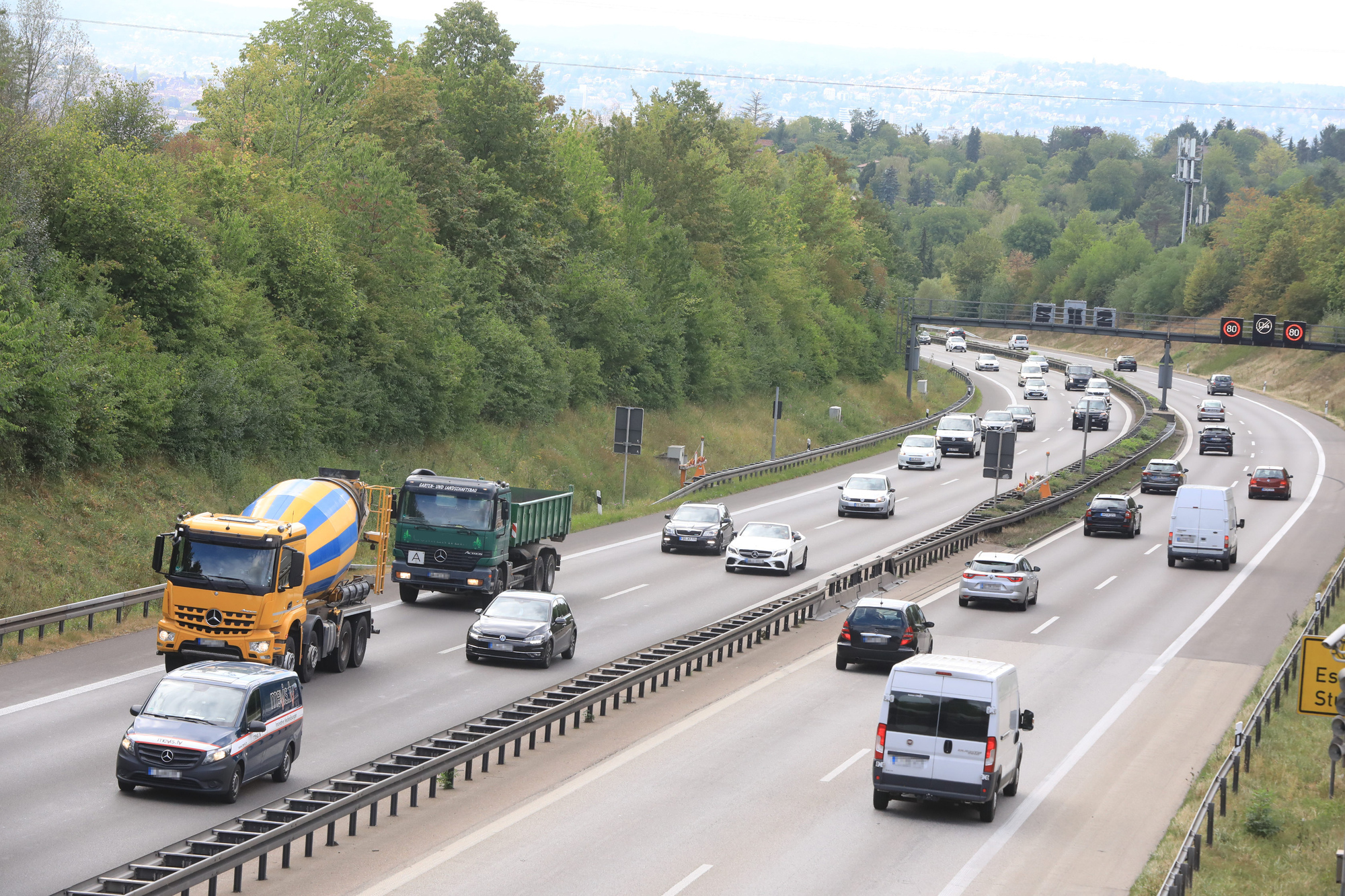 Sperrung Kappelbergtunnel Heute