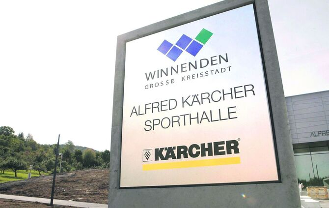 kärcherhalle Winnenden