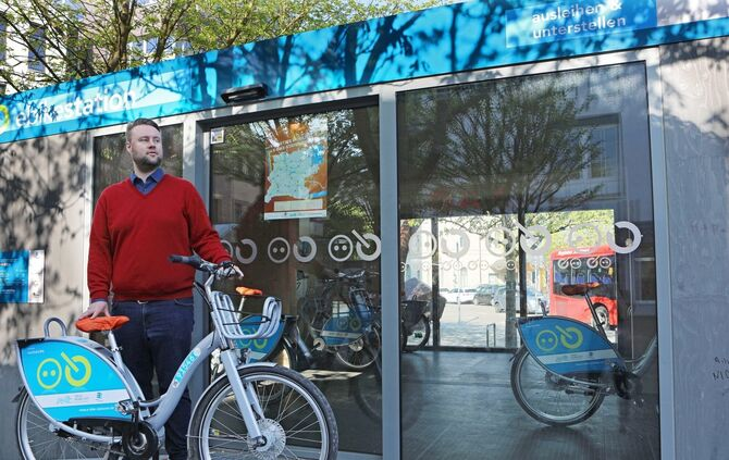 E-Bike Pedelec E-Bikes E-Bike-Stationen Station Schorndorf_0