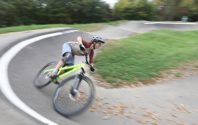 Pumptrack Anlage