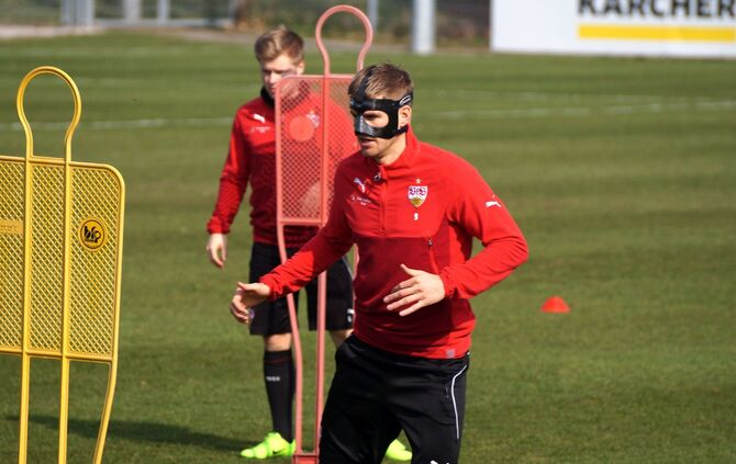 Training VfB Stuttgart 14.03._11